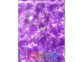 bavlněná látka - fialová batika