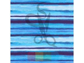 úplet - čáry - modrá