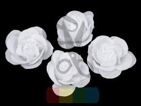 umělý květ růže 35 mm