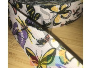 guma 40 mm - motýli