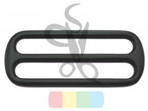 černý kov - zkracovač pro popruhy 50 mm