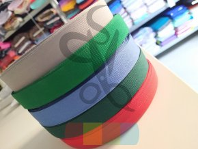 polypropylenový popruh - šíře 2 cm, tenký - více barev