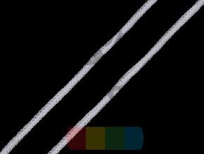 pruženka měkká kulatá 2,5-3 mm - bílá
