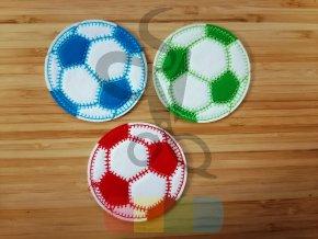 nažehlovačka - fotbalový míč velký