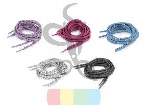reflexní tkaničky 125 cm - více barev
