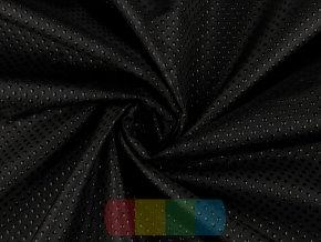protiskluzová látka k našití - černá