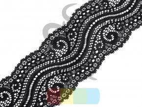 elastická krajka 65 mm - více barev