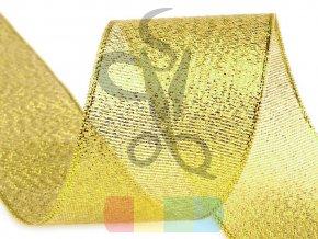 Brokátová stuha šíře 38 mm - více barev