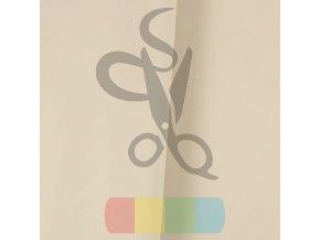 Ekoskora kaletnicza kolor bezowy jasny matowy