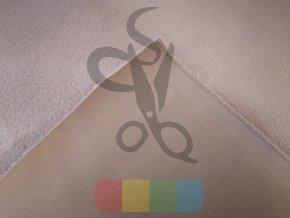zimní softshell  jednobarevný - béžový