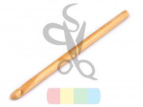 háček na háčkování bambusový 8 mm