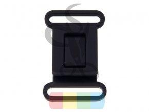 klamra metalowa 40 mm 324 3051 cz czarny mat