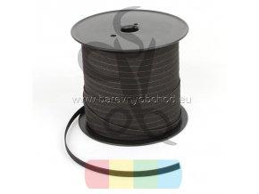 korkový pásek 10 mm černý