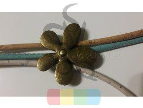 kytička mosazná pro 3 mm kulatou šňůru
