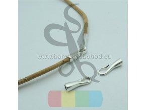 zapínání pro kulatou šňůru 3 mm - háček