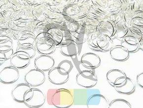 spojovací kroužek 8 mm - zlatý