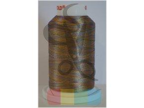 vyšívací nit multicolor č.2243 - 1000 m