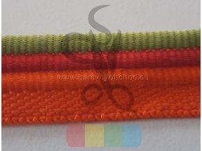 paspulka tricolor - zelená/červená/oranžová