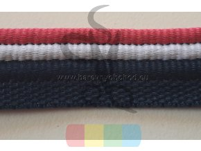 paspulka tricolor - růžová/bílá/modrá