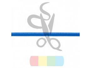 elastická paspulka - modrá