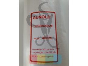 termogáza - podklad pro krajky rozpustný teplem