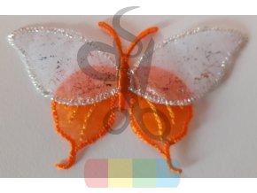 nažehlovačka oranžový motýl