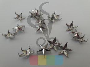 cvok ve tvaru hvězdy - stříbrný