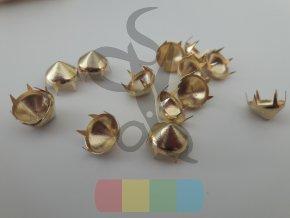 cvok ve tvaru kužele - zlatý