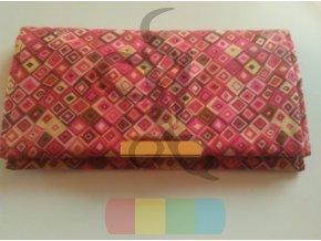kovový okraj či zapínání na tašku nebo peněženku - zlatý