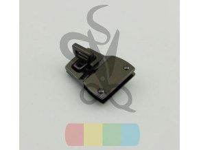 10pcs lot High grade lock pale golden gun black DIY package twist lock mortise lock (1)