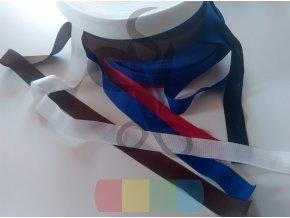 polyesterová lemovka 25 mm - různé barvy