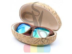 korkové pouzdro na brýle