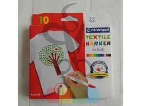 fixy na textil, 10 ks