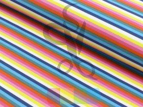 úplet - barevné proužky