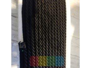 paspulka kroucená - černá