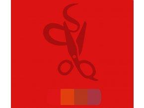 jasně červená