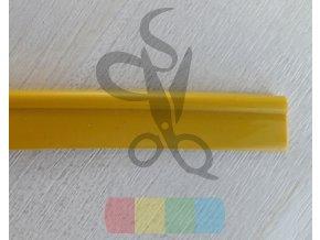 plastová paspulka - žlutá