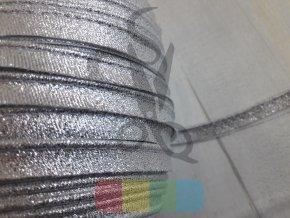 paspulka látková stříbrná