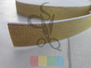 guma 20 mm - zlatá