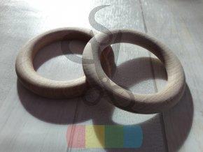 dřevěné kolečko - průměr 8 cm