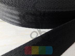polypropylenový popruh imitace autopásů 38 mm - více barev