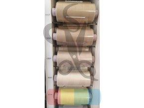 polyesterové nitě ASPO 120 - více barev