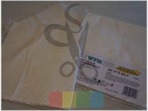 vlizelín zažehlovací 45g/m2 - bílý