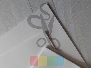 puffy pěna - 30 x 40 cm, tloušťka 2 mm, barva bílá
