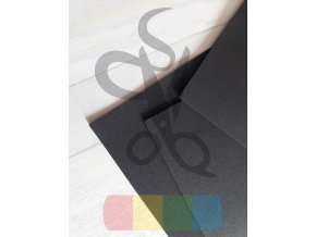 puffy pěna - 30 x 40 cm, tloušťka 2 mm, barva černá