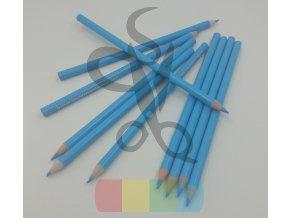 tužka na textil vodou odstranitelná - modrá