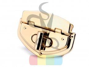 zapínání na kabelku 39 x 54 mm - zlaté