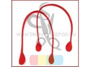 koženkové uši červené