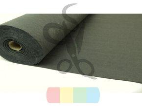 dekorativní filc 2,5 mm - khaki - šíře 100 cm