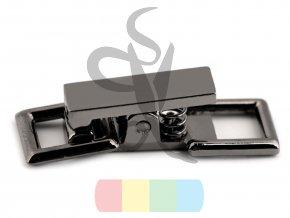 zapínání 9 x 26 mm - černý nikl
